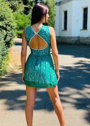 Платье гипюр стрейч
