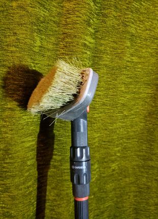 Щетка насадка Gardena (Germany) для мытья фасадов автомобиля