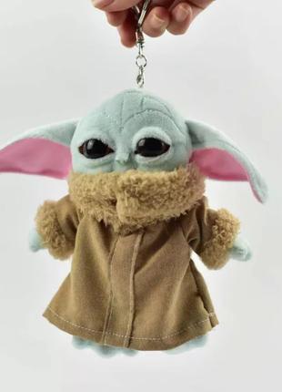 Мягкая игрушка Мастер Йода, звёздные войны, 15 см, новая