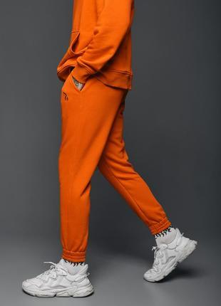 Cпортивные штаны Пушка Огонь Jog 2.0 оранжевые