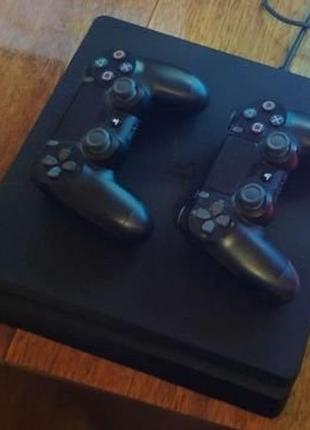Sony Playstation 4 slim 512 gb + игры