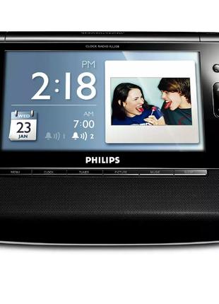 "Фоторамка Радиочасы Philips AJL308/12-7"""