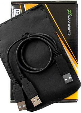 Внешний карман Grand-X SATA HDD 2.5'' USB 2.0 (HDE21)