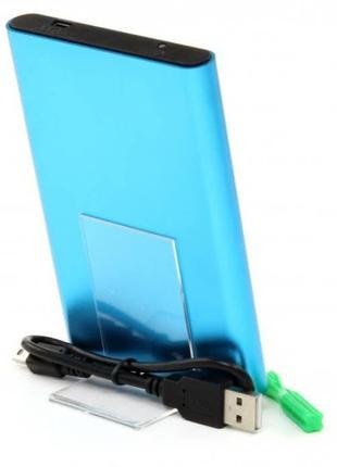 Внешний карман ProLogix SATA HDD 2.5'' USB 2.0 Blue (BS-U25F-BLUE