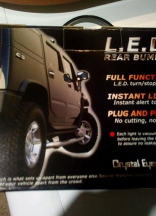 Hummer h2 габаритные огни,стоп сигнал,задний бампер.