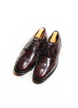 Мужские туфли броги кожа delicious junction