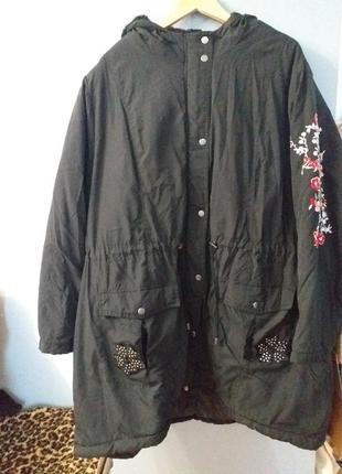 Шикарная курточка батал пог 78