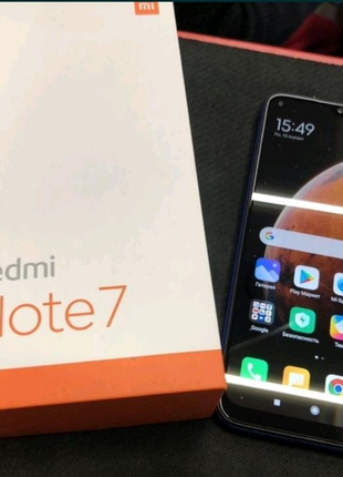 Xiaomi Redmi note 7 4/64 BLACK