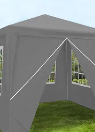 Шатер 3х3 + 4 стенки палатка садовый павильон беседка альтанка по