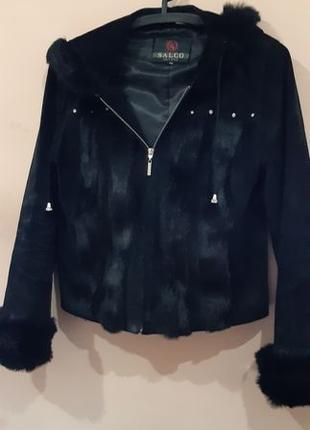 Меховая женская куртка