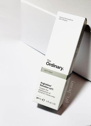 Argireline Solution 10% засіб від зморшок від The Ordinary