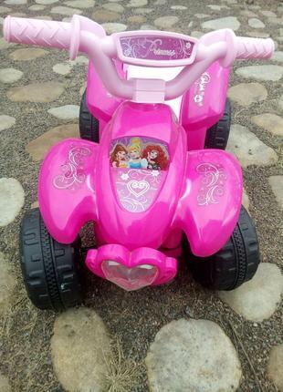 Детский квадроцикл  ZP 5111-8  с изображением фей