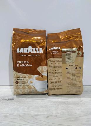 Кава в зернах Lavazza crema i aroma 1000 g