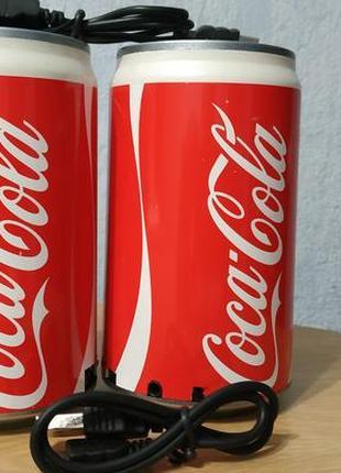 Портативная колонка в виде банки Coca Cola MP3