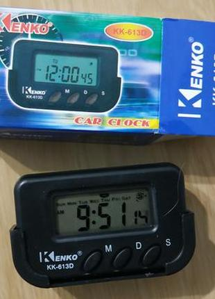 Часы автомобильные Kenko KK-613D
