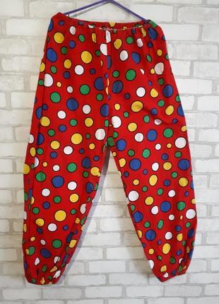 Карнавальный костюм клоуна для аниматоров, клоун, шут