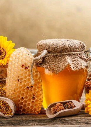 Мед и продукты пчеловодства со своей пасеки