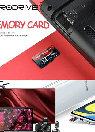 Карта памяти Micro SD 64 Gb