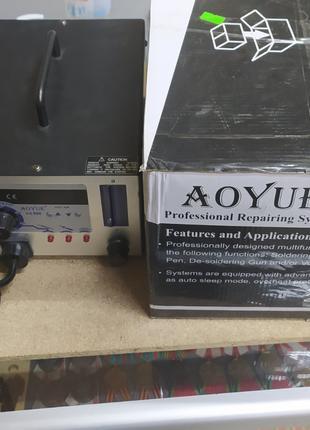 Паяльная станция AOYUE 968 с паяльником и дымопоглотителем
