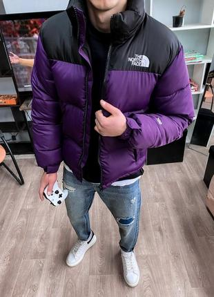 Пуховик the north face tnf 1996 nuptse jacket purple