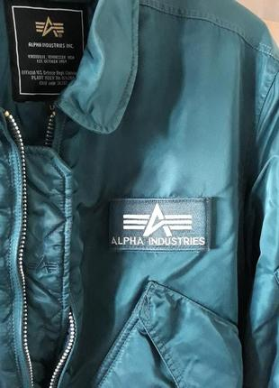 Alpha industries. куртка