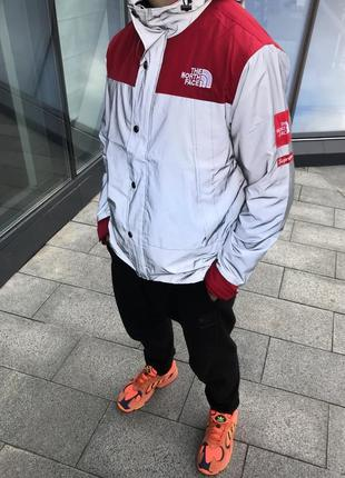 "Куртка supreme x the north face ""red"""