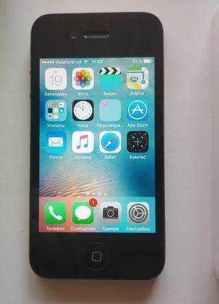 Мобильный телефон Apple iPhone 4S 16GB Black neverlock