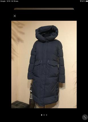 🔥 шикарное 🔥 пальто пуховик одеяло кокон био пух зима