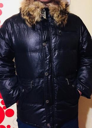Фирменная зимняя куртка, пуховик, парка