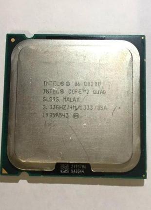 Процессор Intel Core 2 Quad Q8200 - 2,33GHz /4M/ 133mhz / LGA 775