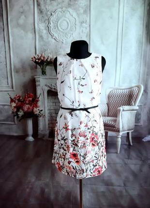 Нежное платье шифоновое
