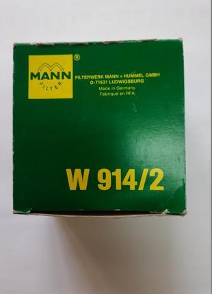 Фильтр масляный W914/2 ВАЗ 2101-2107, 2108-09