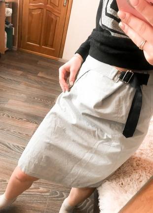 Роскошная юбка прошита с блестящей нитью от дизайнера st-martins