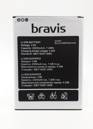 Аккумулятор Bravis S500 Diamond