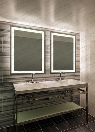 Дзеркало , Зеркало, , Зеркало с LED подсветкой 50*80