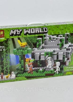 Конструктор Лего Майнкрафт Minecraft Храм в джунглях
