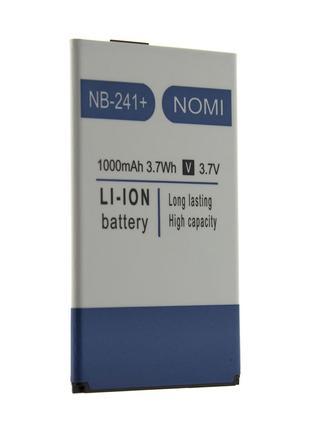 Аккумулятор Nomi NB-241+ для i241+ (1000mAh)
