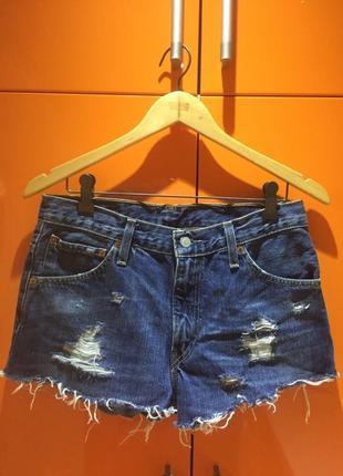 Шорты женские Levis джинсовые шорты ливайс