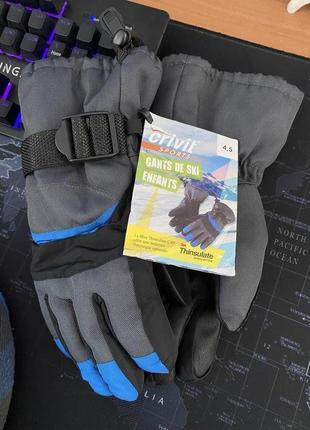 Лыжные перчатки crivit, термо перчатки, германия (размер 4,5)