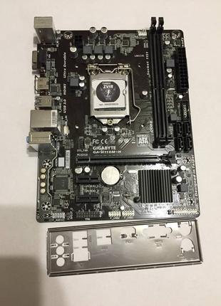 Материнская плата Intel Gigabyte GA-110M-H - LGA 1151 / DDR4