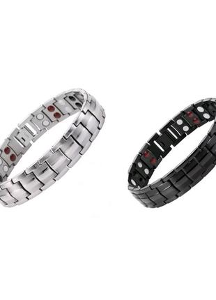Магнитный браслет, мужской браслет, титановый браслет