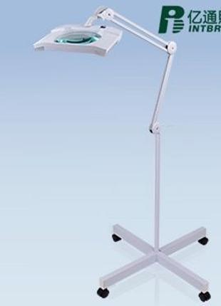 Лампа-лупа косметолога Intbright, LED, регулировка яркости,...