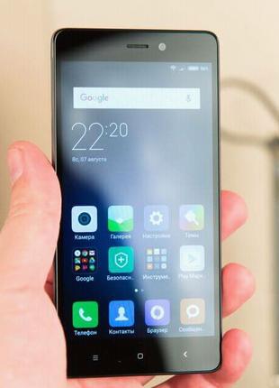 Xiaomi redmi 3s pro 3/32 состояние хорошее