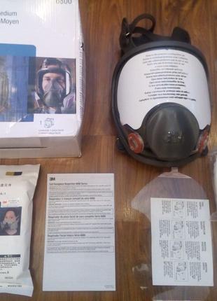 Оригинальная полнолицевая маска зм 6800