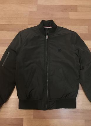 Куртка бомбер le breve хаки