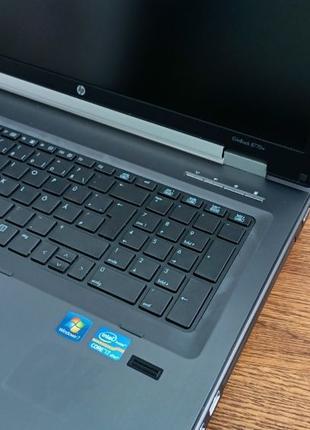 Ноутбук HP Elitebook 8770w-Intel Core-i7-3740QM-2.7GHz-16Gb-DD...
