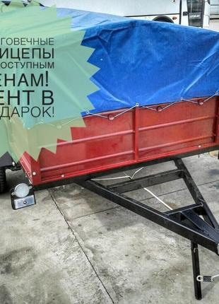 Купить легковой прицеп Днепр-210х130х50 и другие модели с дост...
