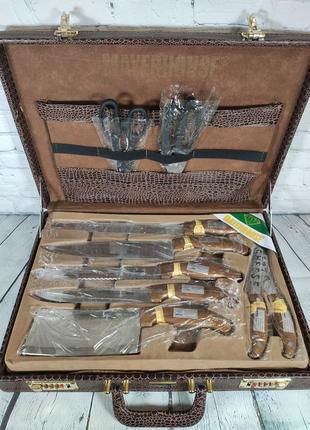 Набор ножей для кухни барбекю пиццы пикника Mayerhouse MY-12003