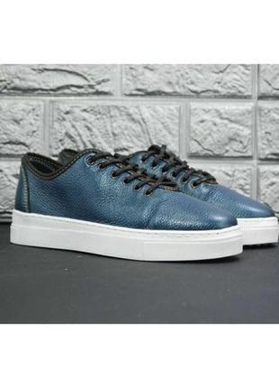 Слипоны туфли натуральная кожа