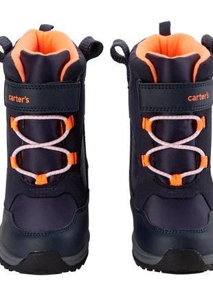 Зимние сапоги carters картерс сноубутсы ботинки детские